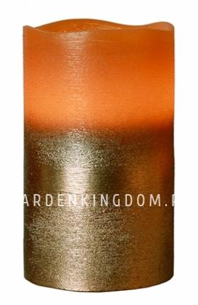 Свеча COPPER, 12,5 см, таймер, бронзовый воск