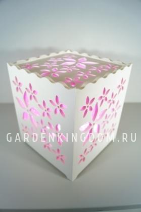 Светильник интерьерный ВЕСНА, 17 см, розовый