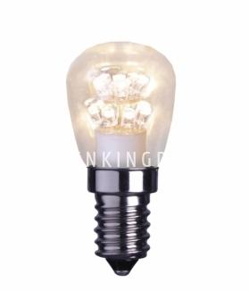Лампочка LED светодиодная 0,7 W (Ватта),  патрон Е14, теплый белый свет