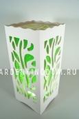 Светильник интерьерный ДЖУНГЛИ, 23 см, зеленый
