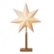 Звезда на подставке KARO, 55 см,  бежевый