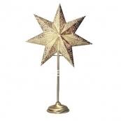 Звезда на подставке ANTIQUE, 55 см, золото