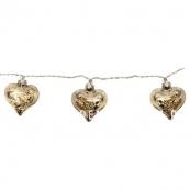 Гирлянда ARGENT в форме сердечек, 5,1 м, стекло