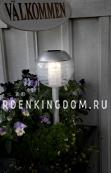 Садовый светильник Шар Solar energy, 30 см