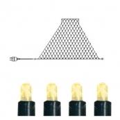 Гирлянда сетка-расширение, 194 лампочки, 3 метра, теплый желтый, серия SYSTEM EXPO