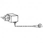 Провод-стартовый, 1,5 м, черный провод, серия SYSTEM 24