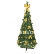Ель искусственная с лампочками и украшениями Pull Up Tree, 185 см