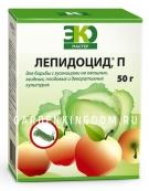 Лепидоцид, биологический препарат для борьбы с гусеницами на различных культурах (инсектицид), 50 г