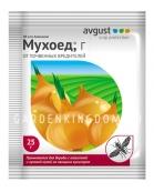 Мухоед, препарат для борьбы с почвенными вредителями овощных и цветочных культур (инсектицид), 25 г