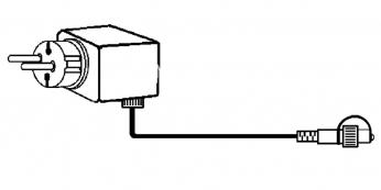 Провод-стартовый, 5 м, прозрачный провод, серия SYSTEM DECOR