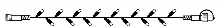 Гирлянда провод-расширение, 5 м, холодный белый, серия SYSTEM DECOR