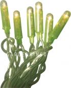 Гирлянда MICRO TREND, 50 ламп, зеленая