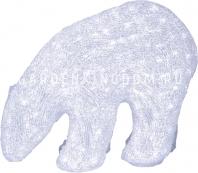 Фигура Медведь полярный, 42 см, белый