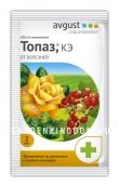 Топаз, препарат для защиты  растений от мучнистой росы и ржавчины (фунгицид), 2 мл