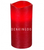Свеча LINDA, 15 см, таймер, красный воск
