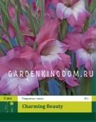 Гладиолус карликовый CHARMING BEAUTY, 3 шт.