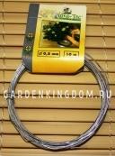 Проволока для подвязывания, оцинкованная, 0,8 мм, 10 м