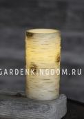 Свеча Березовая, 15 см, таймер