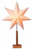 Звезда на подставке KARO, 70 см,  бежевый