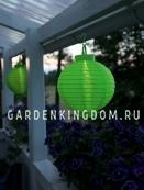Садовый светильник Фонарь FESTIVAL  Solar energy, 22 см, зеленый