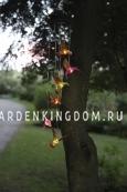 Садовый светильник-подвес Solar energy, 6 ламп, 65 х 13 см