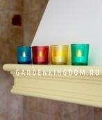 Свеча в стеклянном стакане, 6 см