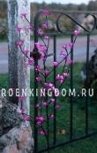 Дерево декоративное  с цветами CHERRY  TREE,  100 см, розовый