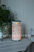 Садовый светильник Фонарик с ветками и птицами Solar energy