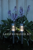 Садовый светильник Цилиндрический Solar  energy, 44 см