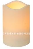 Свеча пластиковая,  11,5 см, белая
