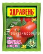 Удобрение Здравень турбо для подкормки томатов и перцев, 30 г.