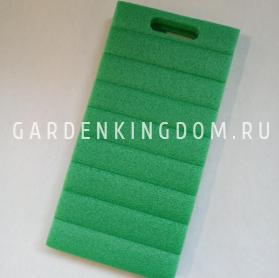 Подколенник садовый, вспененный полиэстирол, 40см х 20см х 4,5 см