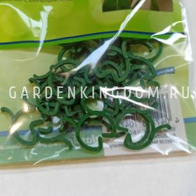 Кольца для подвязки растений, пластик, 3 см х 2,3 см, 25 шт
