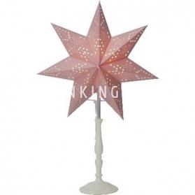 Звезда на подставке ROMANTIC, 55 см, розовый