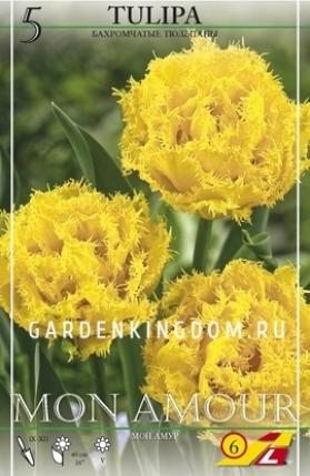 Тюльпан бахромчатый  MON AMOUR, 10 шт