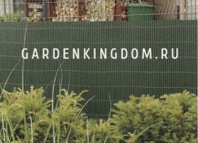 Забор декоративный, длина 3 м,  высота 0,9 м, зеленый