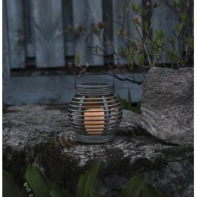 Садовый светильник ФОНАРИК  Solar energy, 16 см, бежевый