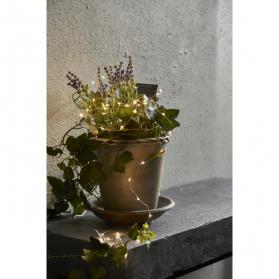 Садовый светильник-гирлянда DEW DROP Solar energy, 2 м