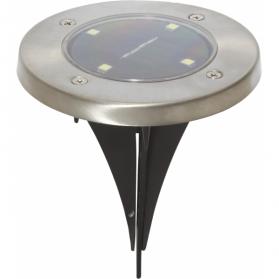 Садовые светильники LAWNLIGHT Solar energy для газона, 3 штуки, диаметр 11,5 см, нержавейка