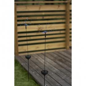 Садовый светильник FIREWORK Solar energy, 100 см, разноцветный