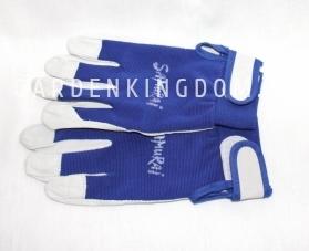 Перчатки садовые синие, размер XL