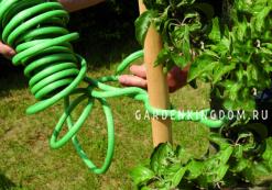 Проволока для подвязки растений в пенополистерольной оплетке, длина 10 м, диаметр 10 мм