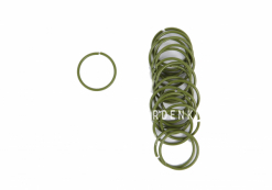 Кольца для подвязывания растений, 20 штук, диаметр 25 мм