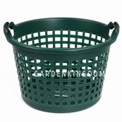 Корзина садовая пластиковая, диаметр 41 см, высота 26 см