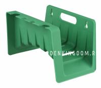Держатель для шланга садового, настенный, пластик, 24,5см х 14см х 14,5см
