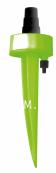 Автополив для комнатных растений с адаптором для пластиковых бутылок, зеленый, 27 см х 6 см, 2 шт