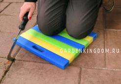 Подколенник садовый, вспененный полиэстирол, 35 см х 30 см х 3 см