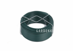 Проволока для подвязки растений в пластиковой оплетке, диаметр 1.4 мм, длина 65 м