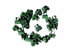 Набор креплений пластмасса, 24 штуки