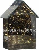 Светильник домик MIRROR HOUSE, 20 см